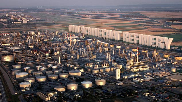 omv, schwechat, raffinerie, refinery, corporate film, querschuss, film